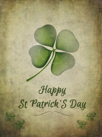 four leaf clover: St Patrick