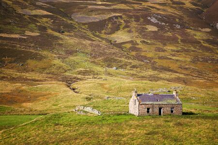 Derelict Stone Cottage In The Cairngorms Scottish Highlands Stock Photo Picture And Royalty Free Image 39382412