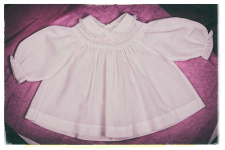 nostalgic: Baby dress nostalgic photo.