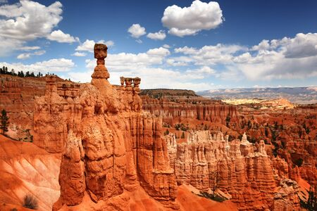 bryce: The dramatic landscape of Bryce Canyon National park, Utah, USA