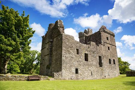Carnasserie Castle in Kilmartin, Argyll, Scotland. Renaissance residence built in 1560.