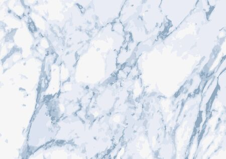 Background or overlay texture of light marble in shades of blue and grey. vector format.