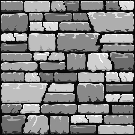 rubble: Grey stone wall background in cool tones.