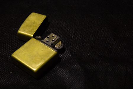 Gold Metal Lighter