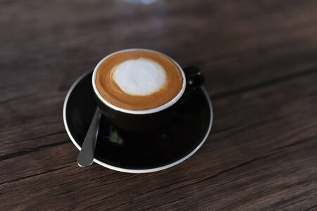 Cup of hot espresso coffee Aceh