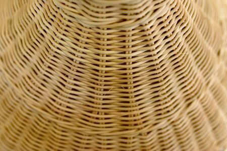 Abstract woven rattan by hand