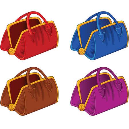 Ensemble de sacs à main de couleur