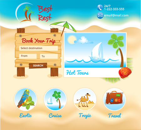 sand background: Beach sand background for web template