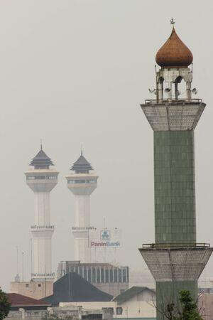 minarets: minarets