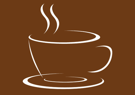 bussiness time: fresh coffee icon for your bussiness