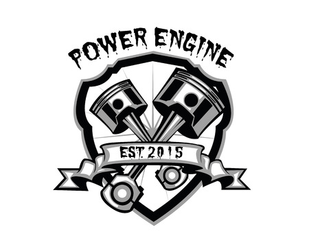 power engine 版權商用圖片 - 48716652