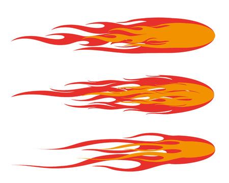 fireball: fireball illustration