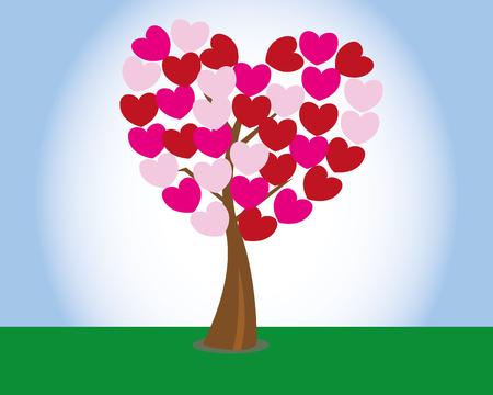 valentine tree: valentine tree