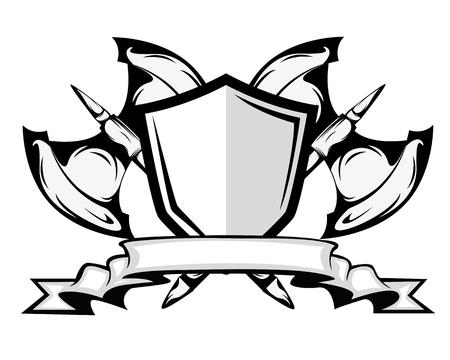 assen en schild badge