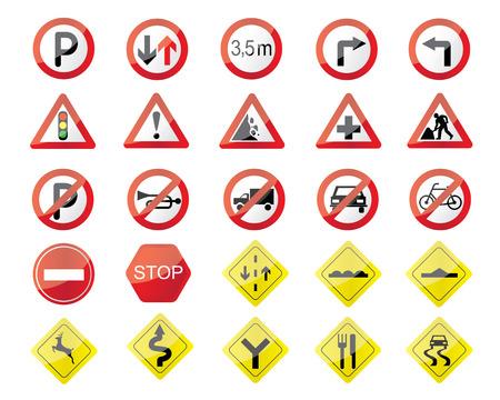 traffic sign illustration