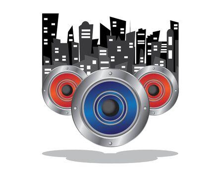 music city illustration