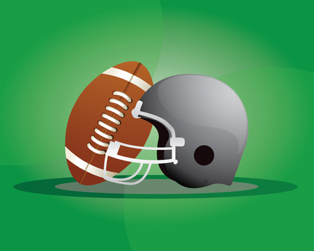 American football, referred to as football in the United States and Canada, and also known as gridiron, a sport played by two teams of eleven players on a rectangular field with goalposts at each end