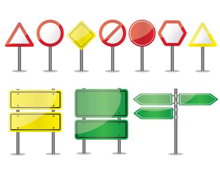 Verkeersborden of verkeersborden zijn tekens aan de zijkant van of boven de wegen om instructies te geven of informatie te verstrekken aan weggebruikers. De vroegste tekens waren eenvoudige houten of stenen mijlpalen