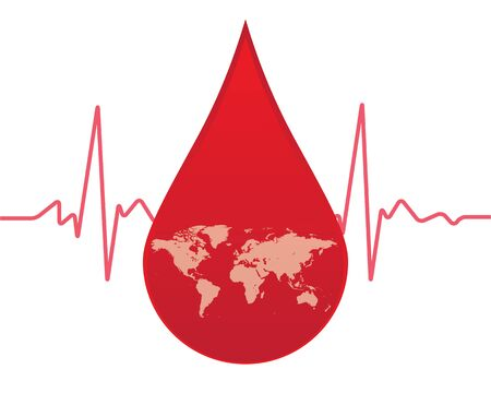 give: give blood to the world