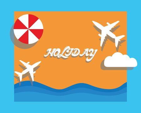 holiday: holiday travel flight time