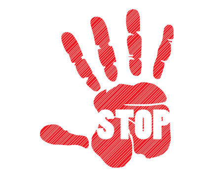 stop it with hand