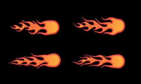 fireball illustration