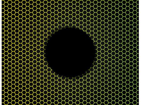 Bee nest background design