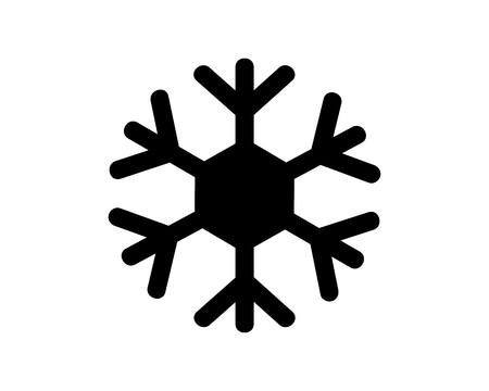 snow icon design illustration,glyph style design, designed for web and app