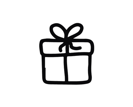 gift icon design illustration,hand drawn style design, designed for web and app 向量圖像