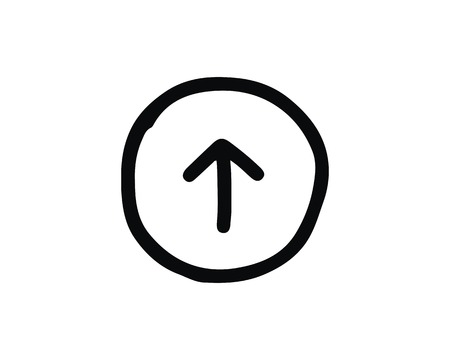 up icon design illustration,hand drawn style design, designed for web and app