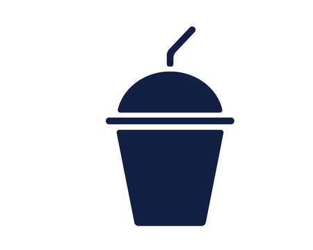 ice blend glyph icon , designed for web and app