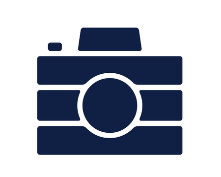 camera glyph icon , designed for web and app