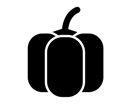 pepper icon glyph cool cute icon pack app design icon Illustration