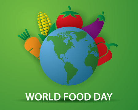 world food day tourism day illustration world food day vector
