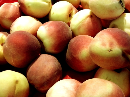 Peach fruits which is rich with  Vitamin C and A. It can be consume fresh or process into canned fruit or jam, or as ingredient in pastries.