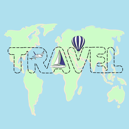 was: Travel map on a globe
