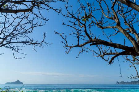 Gili Trawangan Beach are an archipelago of three islands are a tourist destination. located in northwest coast of Lombok, Indonesia. 版權商用圖片