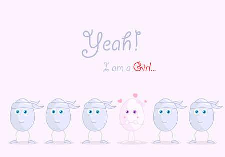 am: I am a girl