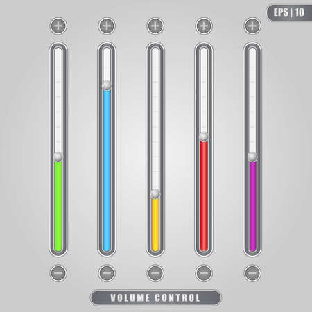 fader: Volume Control Illustration