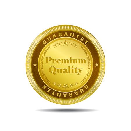 gold medal: Premium Quality Gold Medal Vector Design Illustration