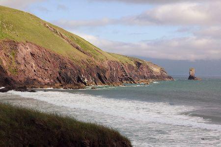 Coastal Rock Point Stockfoto - 3411494