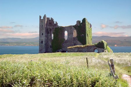 Castle by the sea.