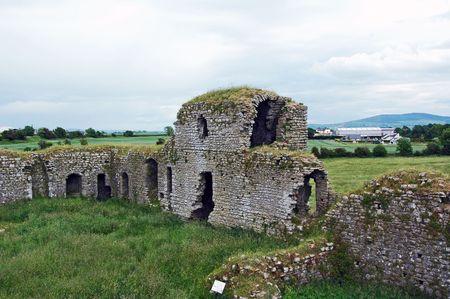 Old castle ruin in Ireland