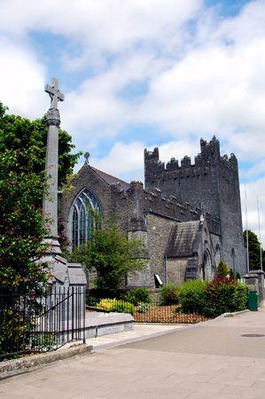 Quaint old irish church in Ireland.