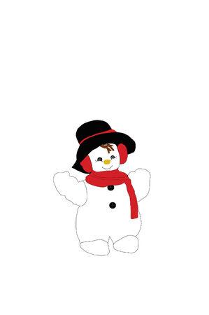 muffs: Happy Snowman