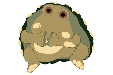 Turtle with a secret.
