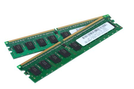 ordinateur: RAM chips. The photo contains a clipping path.