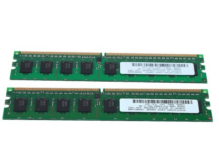 2 pièces de 512 Mo de RAM  Banque d'images - 682473