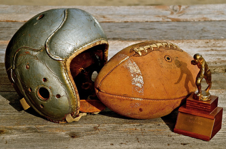 helmets: Memories of a Former Football Player