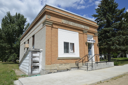 bank of america: ALICE, NORTH DAKOTA, August 10, 2104: The Frist National bank was created in 1857 and is one Forbes Best Banks in America.